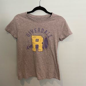 Archie Comics Grey Riverdale Tee, S